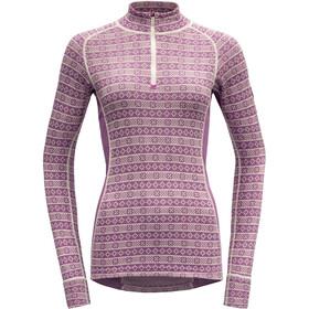 Devold Alnes Half-Zip Neck Shirt Women, iris